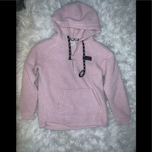Fluffy Pink Sweatshirt